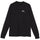 Canyon Wide Rib LS Tee - Black