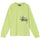 Big Logo Pocket LS Tee - Lime