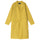 Long Light Nylon Coat - Mustard