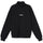 Mock Neck Half Zip - Black