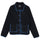 Sherpa Button Down Jacket - Black