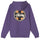 Cross Dot Hood - Purple