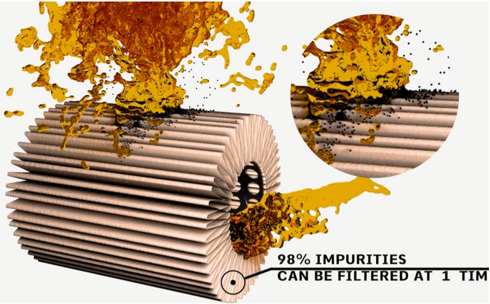 What is the function of the Fuel filter?