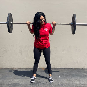 The Strength Co. Red Flag Tee