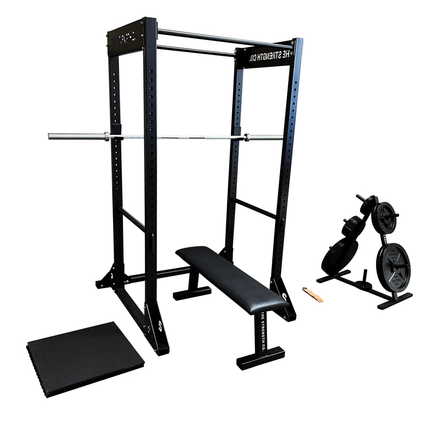 power rack home gym set