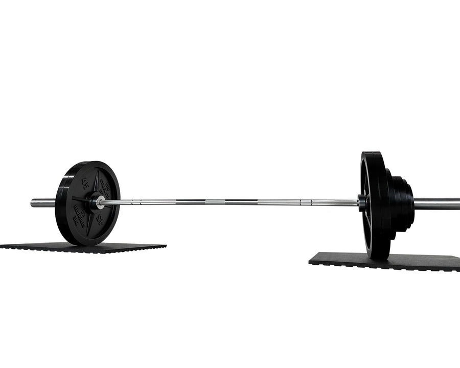 Olympic Barbell And Plates Set 330 LBS - Made in USA