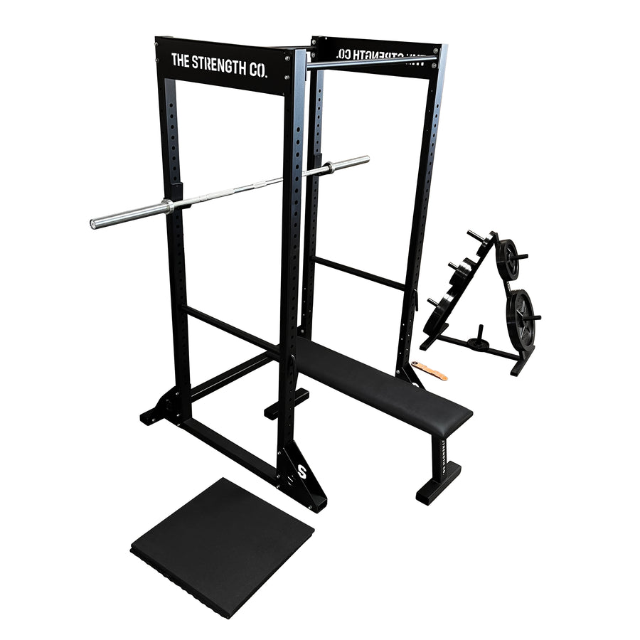 barbell home gym set