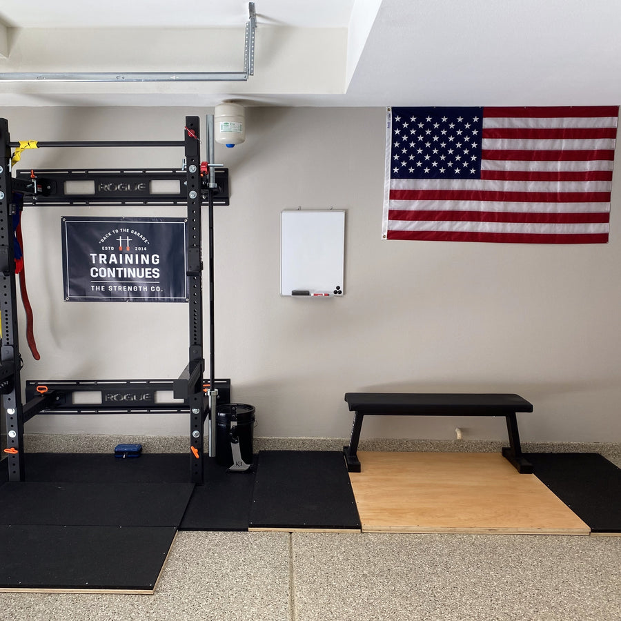 Garage Gym American Flag 3x5' Made In USA