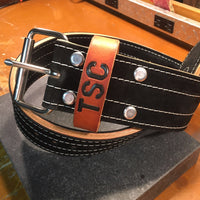 "American Leather Weightlifting Belt - "" The Duty Belt"""