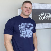USMC Running Bulldog T-Shirt