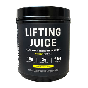 Lifting Juice Workout Supplement