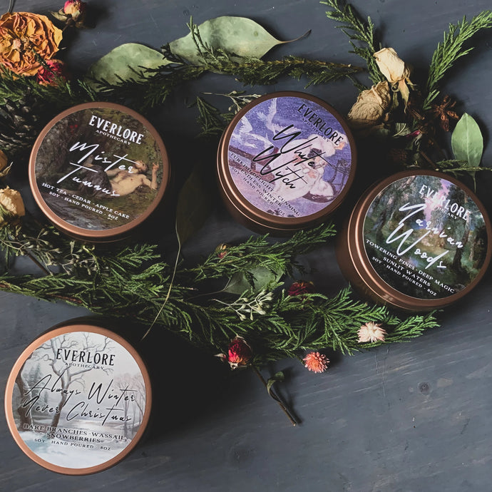 Narnia Woodwick Candle Collection