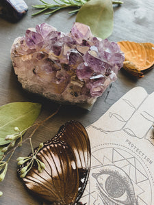 Amethyst Crystal Cluster (Medium)