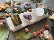 Load image into Gallery viewer, Selenite Raw Crystal Cleansing Slab (Large)