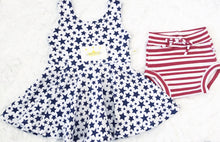 Load image into Gallery viewer, Stars and Stripes Tunic and Shorties Set by Wee Kings