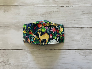 Premium Face Cover Floral Animals
