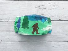 Load image into Gallery viewer, Premium Face Cover Watercolor Sasquatch/Bigfoot