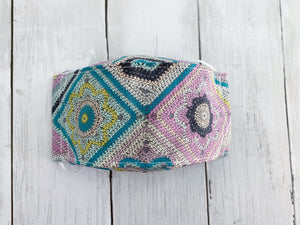 "Premium Face Cover ""Crochet"" design"