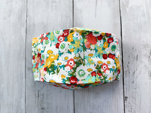 Premium Face Cover Colorful Floral