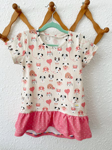 Puppy Love Ruffle Shirt (please read description)
