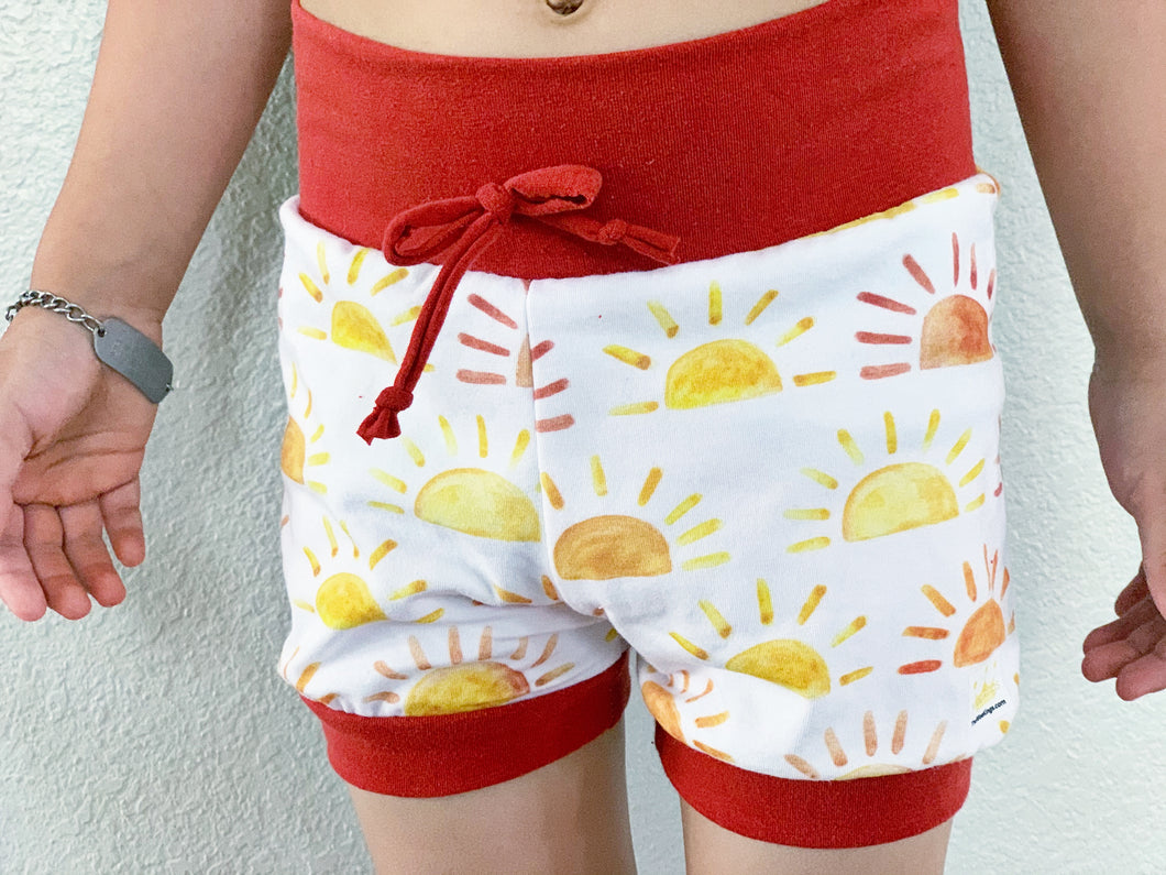 Sunshine Cuffed Shorts