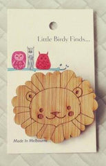 Little Birdy Finds... Wooden Brooches