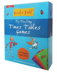 Roald Dahl Tip Toppling Times Tables Games