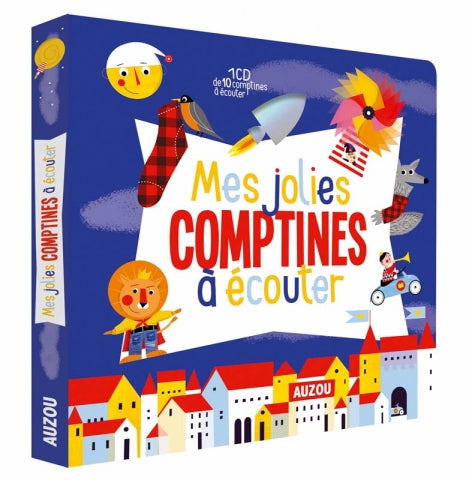 MES JOLIES COMPTINES À ÉCOUTER (Nursery Rhymes Audio Book)