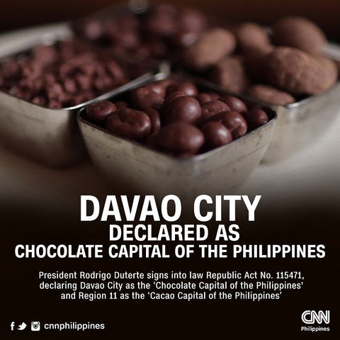 Davao City Declared as Chocolate Capital of the Philippines!