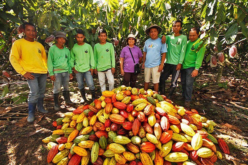 Malagos Chocolate Team at the Puentespina Cacao Farm