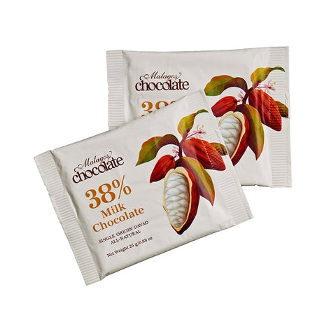 New fine treats! Milk Chocolate Mini Bar (pack of 10 bars)