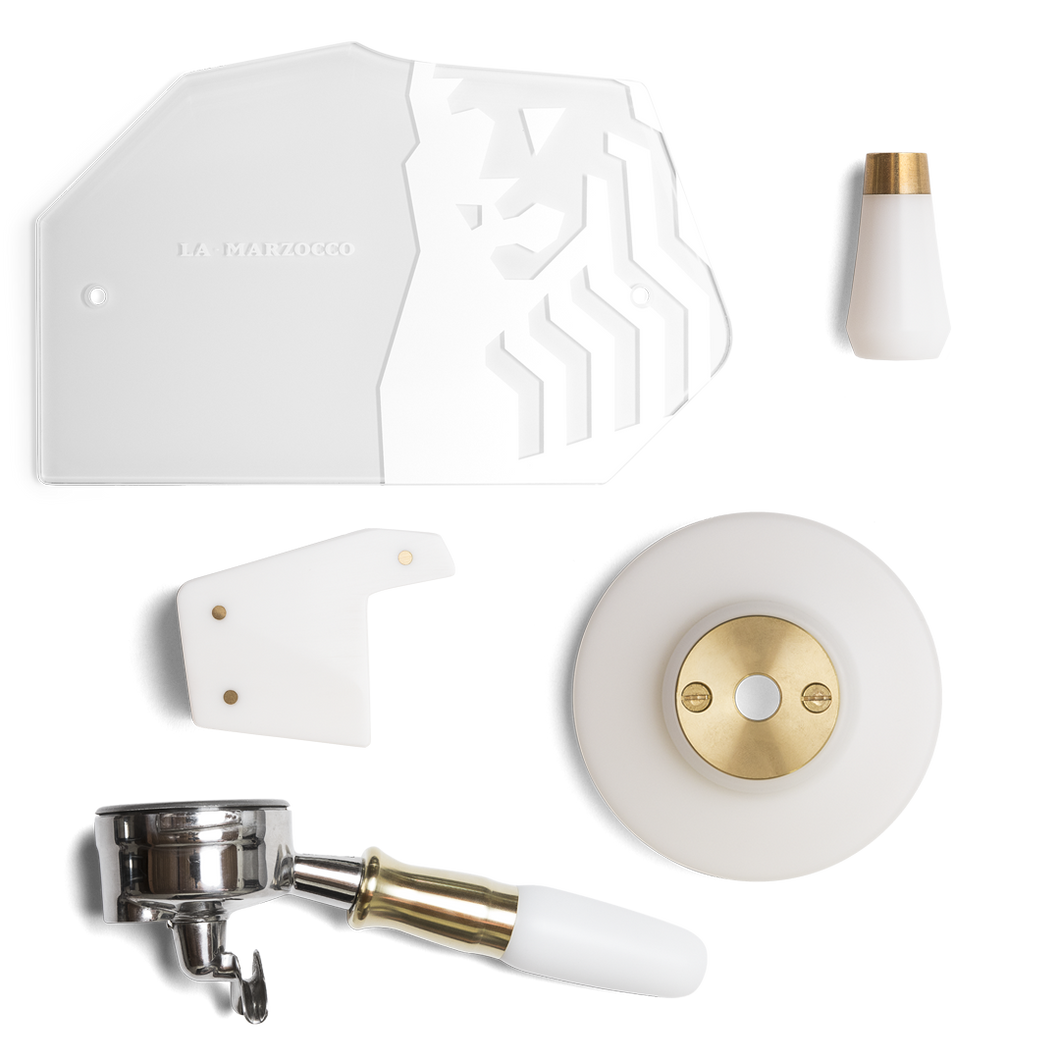 GS3 Customization Kit  MP – White & Brass