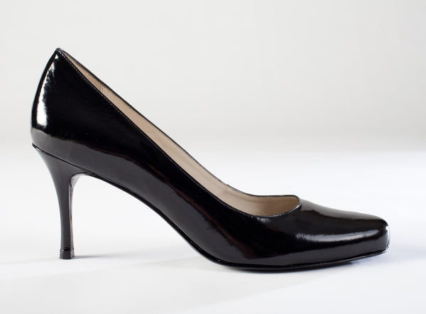 Adelia Black Patent Leather Pump