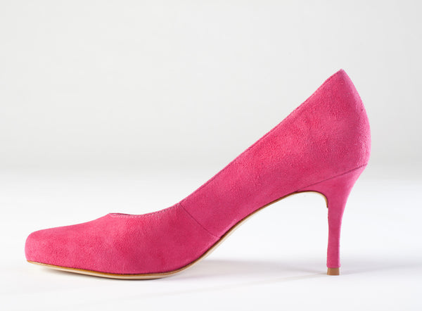 Pink Suede Pumps, Large Size Shoes, Large Size Dress Pumps, size 11 pumps