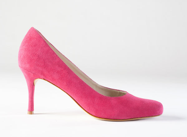 Pink Suede Pumps, Large Size Shoes, Large Size Dress Pumps, Size 13 Pink Pumps
