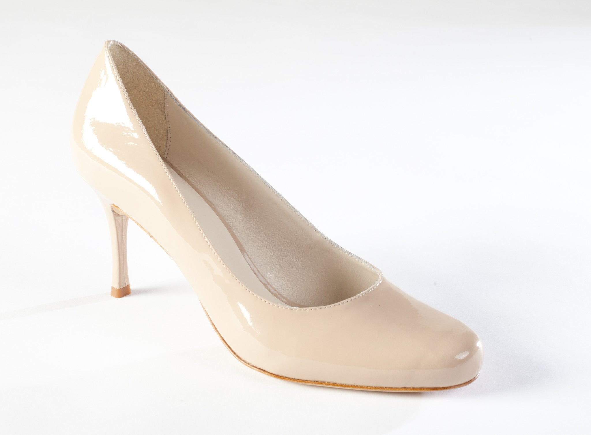 Large Size Pump, Nude Patent Pump Large Size, Large Size high heels
