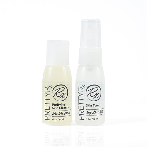 TRAVEL SKIN CLEANSE - SKIN TONE DUO