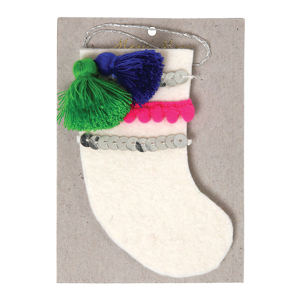 Stocking Felt Tree Decoration