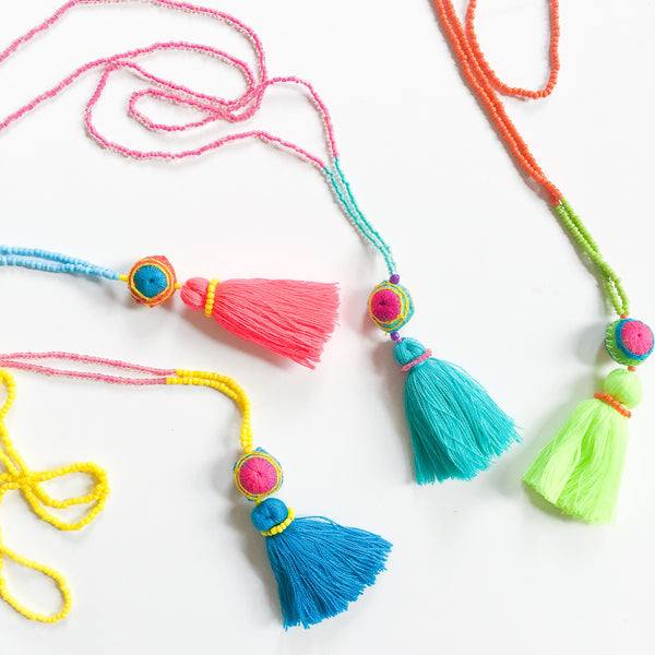 Tassel Beads Necklace