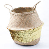 Belly sequin seagrass basket | Sunday in color