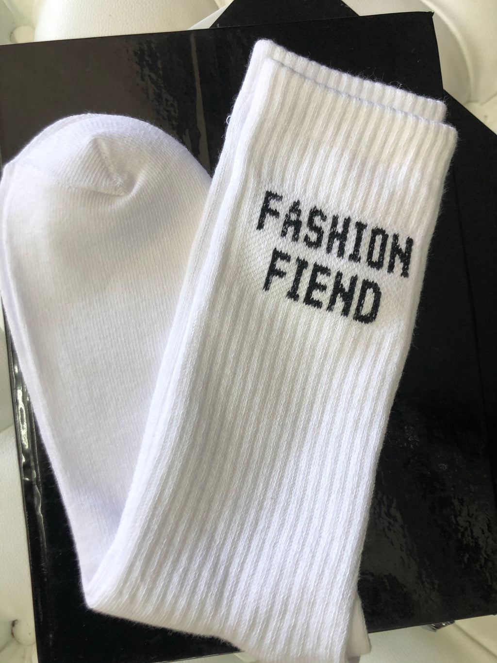 Fashion Fiend Logo Socks