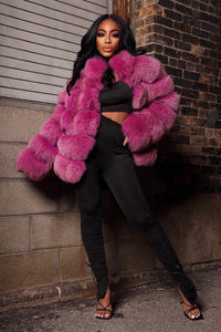 Barbie Dreams Fox Fur Jacket