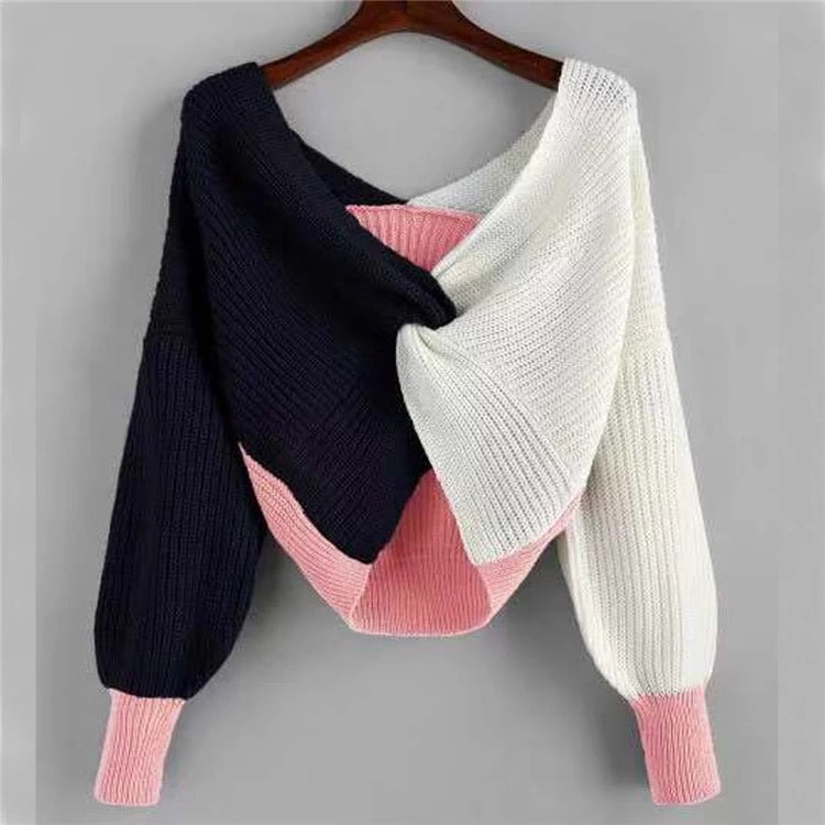 Heather Crop Sweater