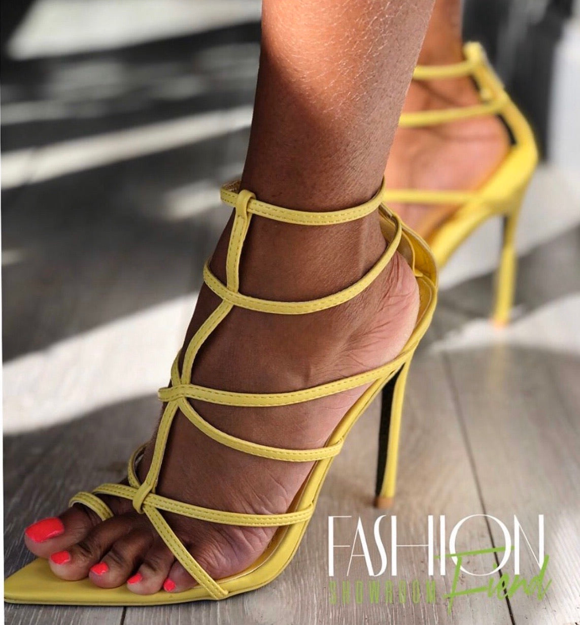 "Lily Heel ""Yellow"""