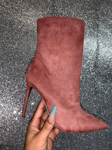 "Jacquelyn Bootie ""Dusty Rose"""