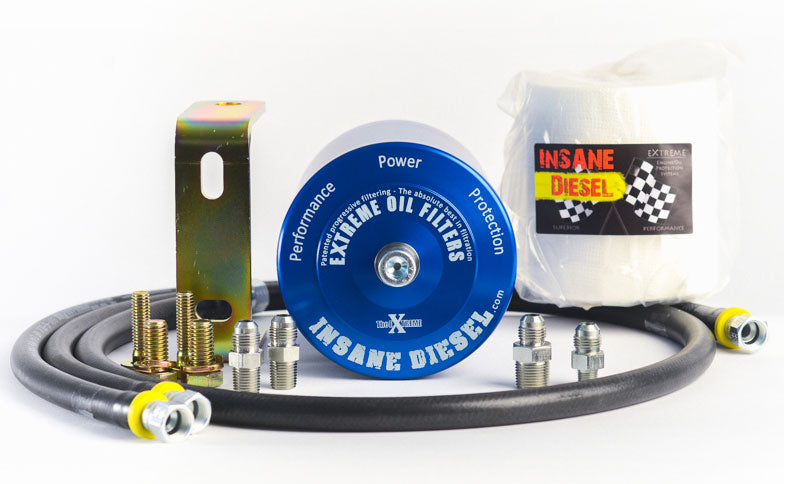Insane Diesel Extreme Oil Filter Bypass Kits