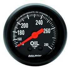AUTO METER Z-SERIES OIL TEMP GAUGE