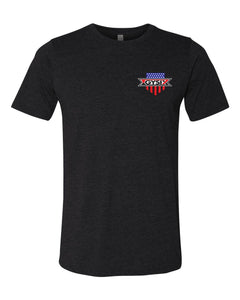 Thin Blue Line T Shirt - Mens