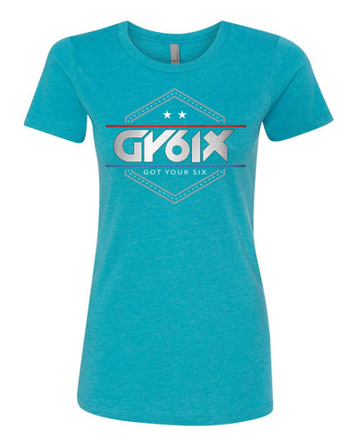 GY6IX Military LEO Tribute T Shirt - Womens