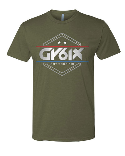 GY6IX Military LEO Tribute T Shirt - Mens